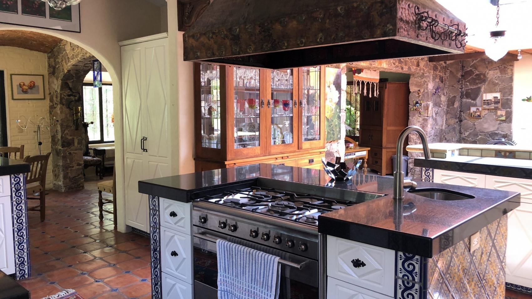 main house kitchen view