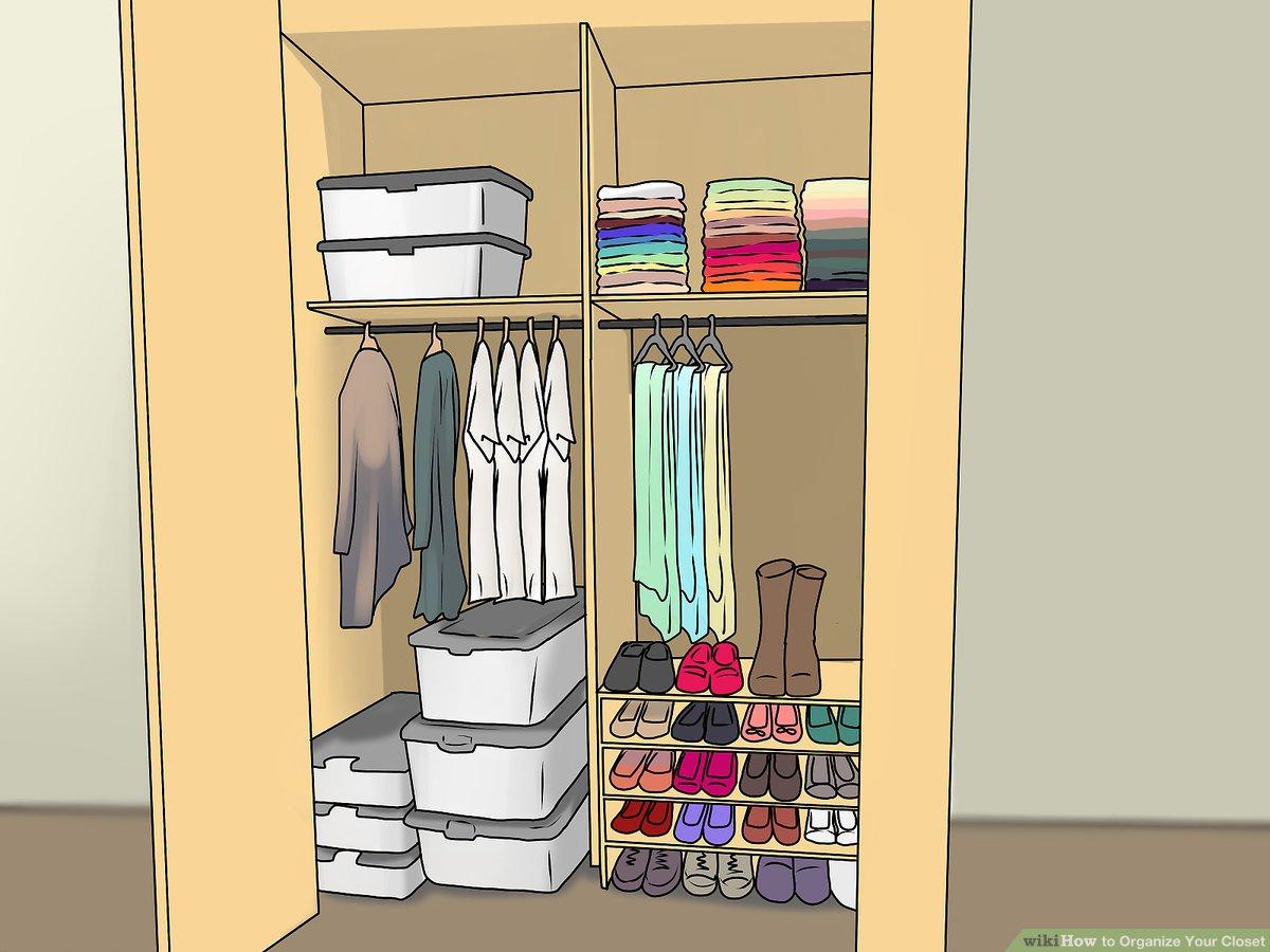 closet orgainzation